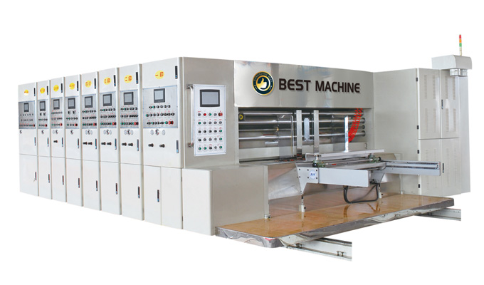 ZKCS series Full computer vacuum transfer type high speed multiple-color printing varnishing drying