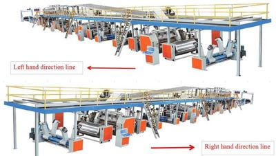 7-layer high speed corrugated paperboard production Line